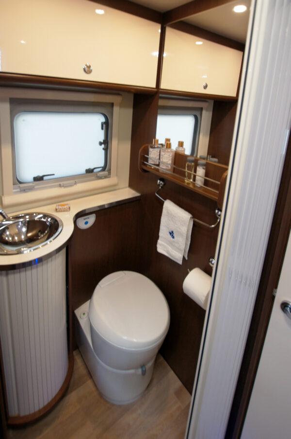 karavan Ahorn Alaska TE interier