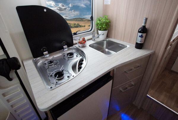 Ahorn ACT 690 karavan interier prodej