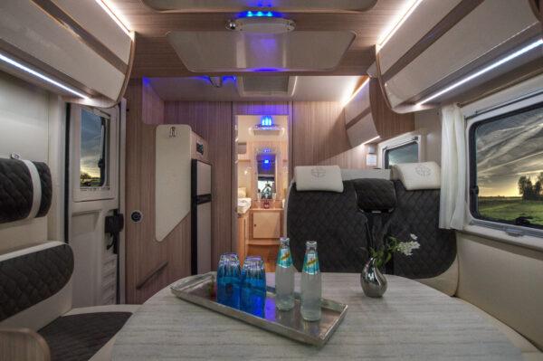 Ahorn Canada TE karavan interier