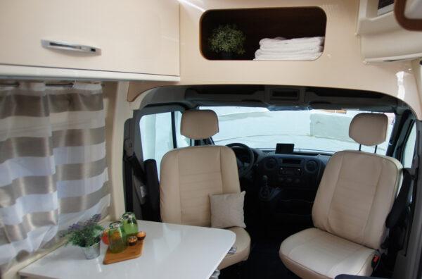 Ahorn Van 2019 karavan interier